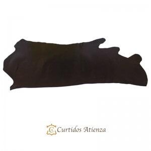 Hojas-vaqueta-flor-marron