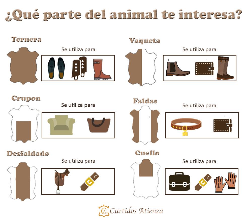 ¿Qué parte del animal te interesa?