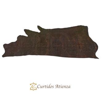 vaqueta-flor-cocodrillo-marron